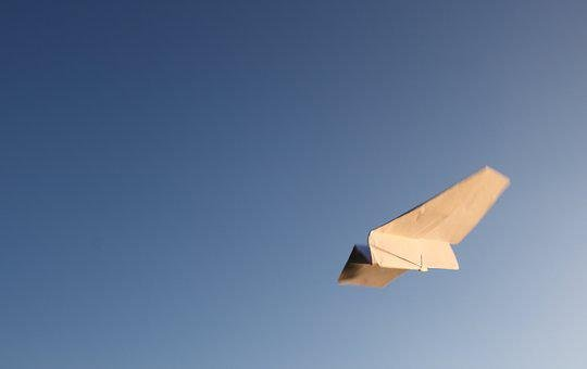 Paper, Paper Airplane, Play, Flying, Banner, Background