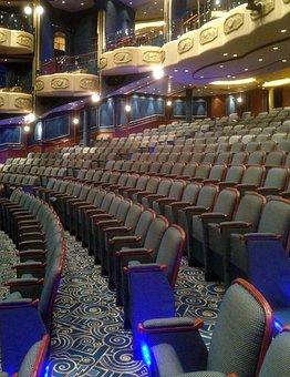 Theater, Cinema Hall, Opera Hall, Cruise, Audience