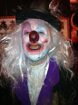 Clown, Halloween, Bad Clown, Carnival, Costume
