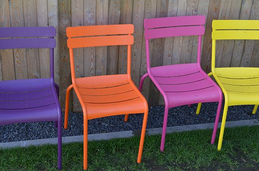 Chairs, Furniture, Colorful, Seating, Plastic