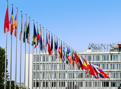 Flags, Europe, Eu, Flag, European, Blow, Country