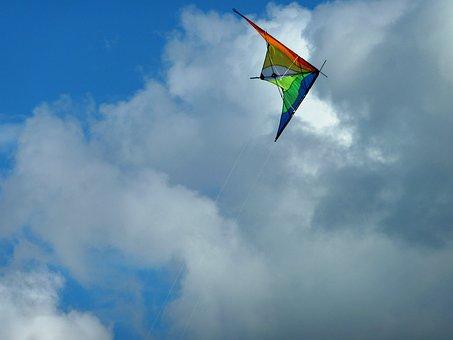 Dragons, Wind, Dragon Rising, Kites Rise, Flying Kites