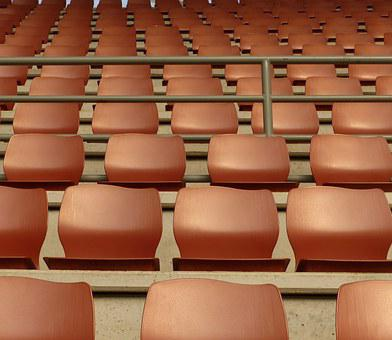 Grandstand, Space, Seat, Chair, Audience, Sit, Empty