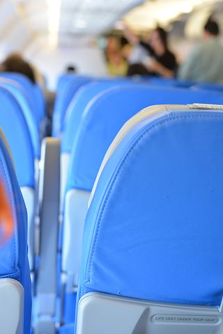 Seats, Airline, Chairs, Rows, Fly, Economy, Travel