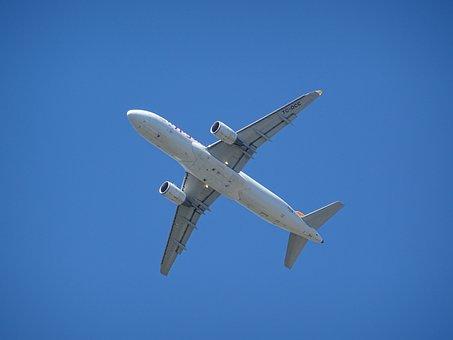 Aircraft, Landing, Sky, Blue, Aviation, Fly, Flyer