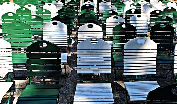 Folding Chairs, Chairs, Rows Of Seats, Chair Series