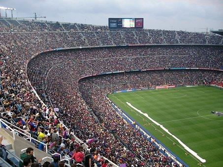 Football Stadium, Stadium, Football, Camp Nou