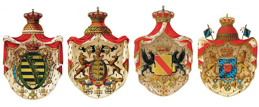 Heraldry, Coat Of Arms Of Germany, Germany, Crown