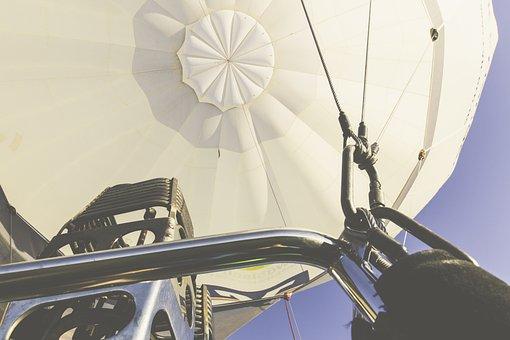 Hot Air Balloon, Exit, Air, Sky, Balloon