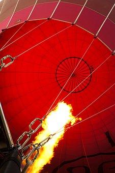 Hot Air Balloon Ride, Balloon, Fire, Bagan, Myanmar