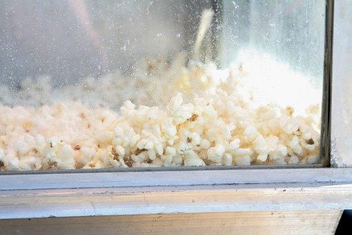 Popcorn, Fair, Salty, Snack, Butter, Buttered, Kernel