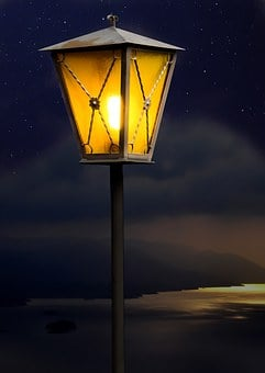 Lantern, Lamp, Light, Lighting, Street Lamp, Night