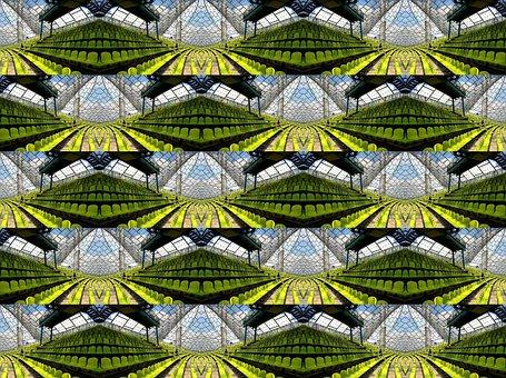 Background, Mirroring, Stadium, Olympic Stadium, Munich