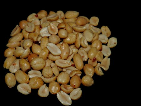 Peanuts, Salt, Snack, Nibble, Nuts, Cores