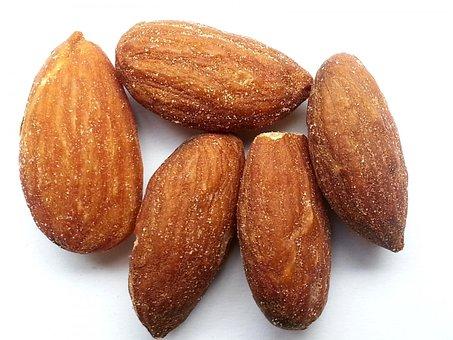Nuts, Almond, Snack, Allergy, Food, Salt