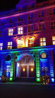 Munich, Police, Headquarter, Christmas Time, Ettstraße