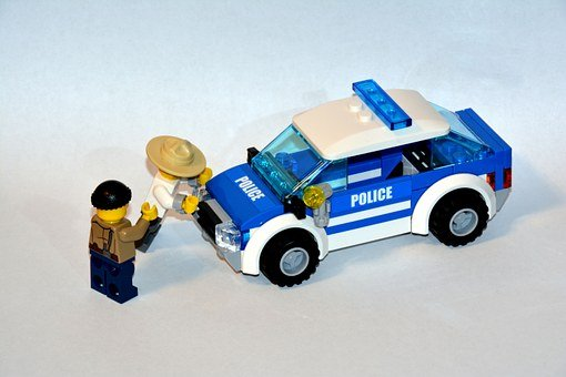 The Police, Arrest, Lego, Pads, Guy, Ludek, Policeman