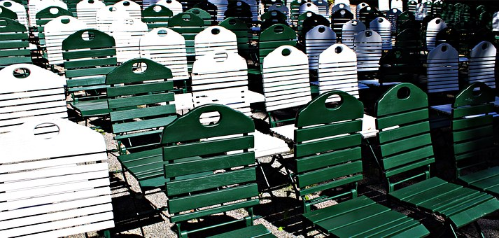 Chairs, Rows Of Seats, Seating Area, Chair Series