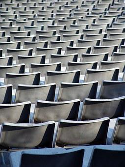 Rows Of Seats, Stadium, Football Stadium, Grandstand