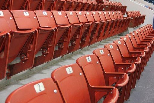 Seat, Stadium, Arena, Empty, Event, Plastic, Chair