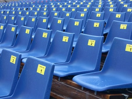 Sit, Rows Of Seats, Auditorium, Grandstand, Seats