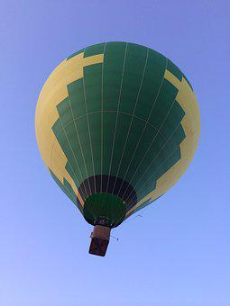 Hot Air Balloon, Balloon, Sky, Colorful, Flight, Float