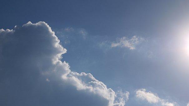 Sky, Clouds, Sunlight, Exposure To Sunlight, Summer