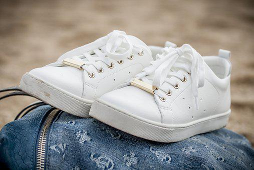 Slippers, Cords, Footwear, White, Sand, Beach, Shoe