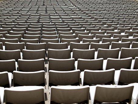 Texture, Bench, Chair, White, Stadium, Sport