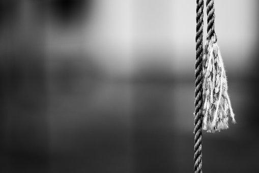 Rope, Twine, Black, The Depth Of The, Emotion, City