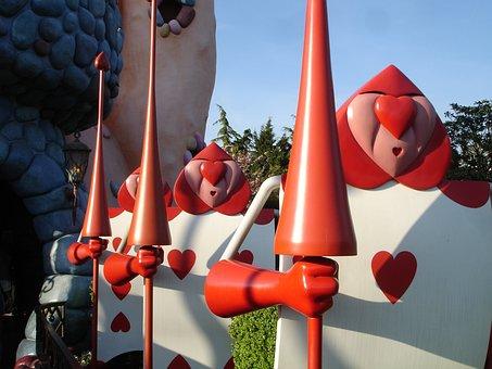Military, Alice In Wonderland, Disneyland Paris, Theme