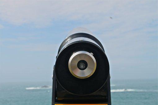 Tower Viewer, Lookout, Binoculars, Telescope, Distance