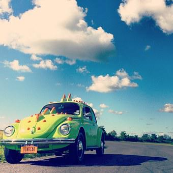 Vw Beetle, Volkswagen, Vw, Classic Car, Whimsical