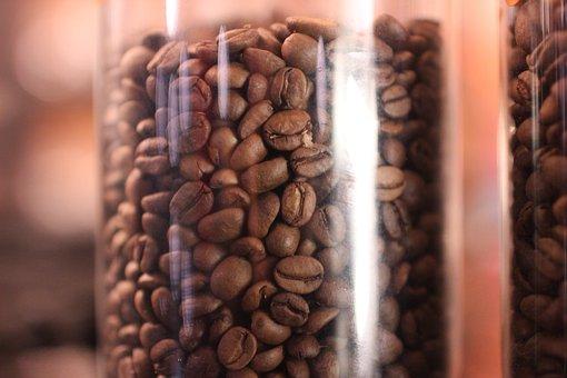 Coffee Bean In Jar, Arabica, Robusta, Coffee, Caffeine