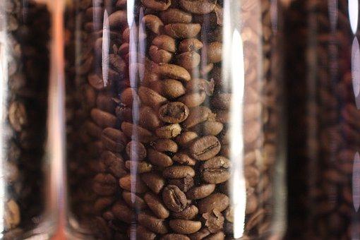 Coffee Bean In Jar, Arabica, Robusta