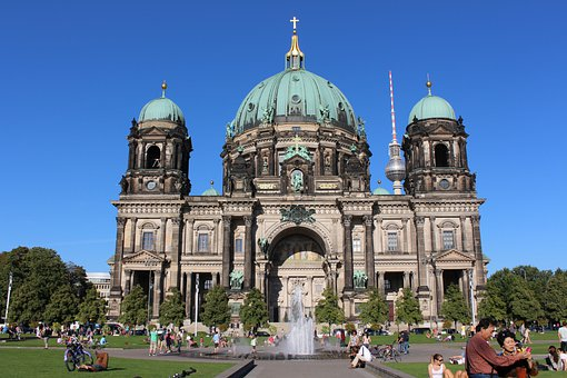 Berlin, Architecture, Dom, Building, Capital, Germany