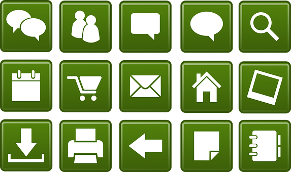 Icons, Web, Community, Buttons, Tags