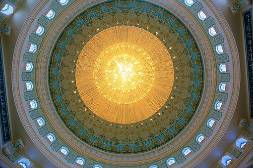 Dome, Architecture, Chandelier, Building
