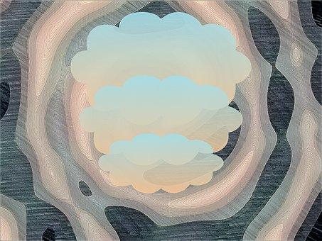 Cloud, Clouds, Bubble, Balloon, Spiral