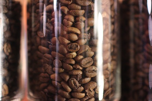 Coffee Bean In Jar, Arabica, Robusta, Coffee, Caffeine