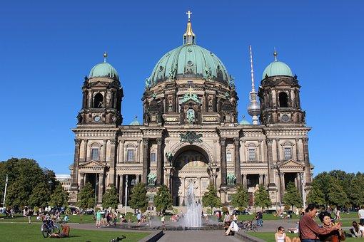 Berlin, Architecture, Dom, Building