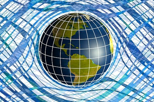 Globe, Technology, Earth, Pattern, Geometric