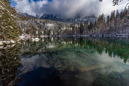 Lake Cresta, Graubünden, Oberland