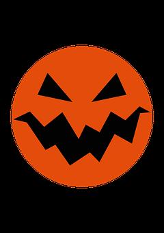 Halloween, Pumpkin, Smile, Evil, Vicious, Autumn