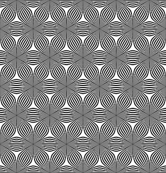Seamless, Weave, Ribbon, Hexagonal, Hexagon, Line