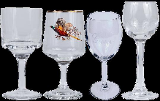 Glass, Tableware, Alcohol, Wine, Service, Applique