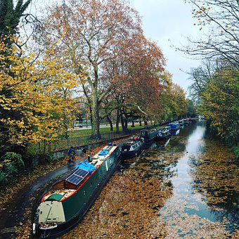 Canal, Regent'S Canal, Autumn