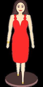 Catwalk, Model, Woman, Slender, Beautiful, Clothing