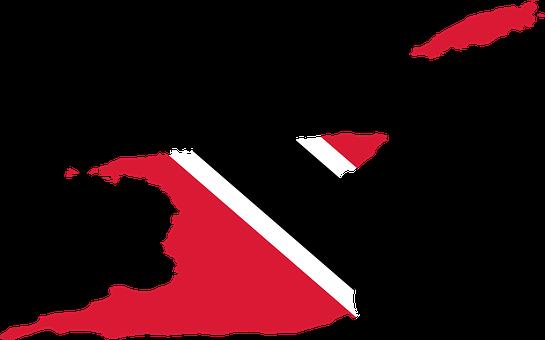 Trinidad And Tobago, Flag, Map, Borders, Country