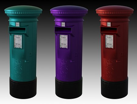 Post Box, Delivery, Mail, Service, Shipping, Box, Post
